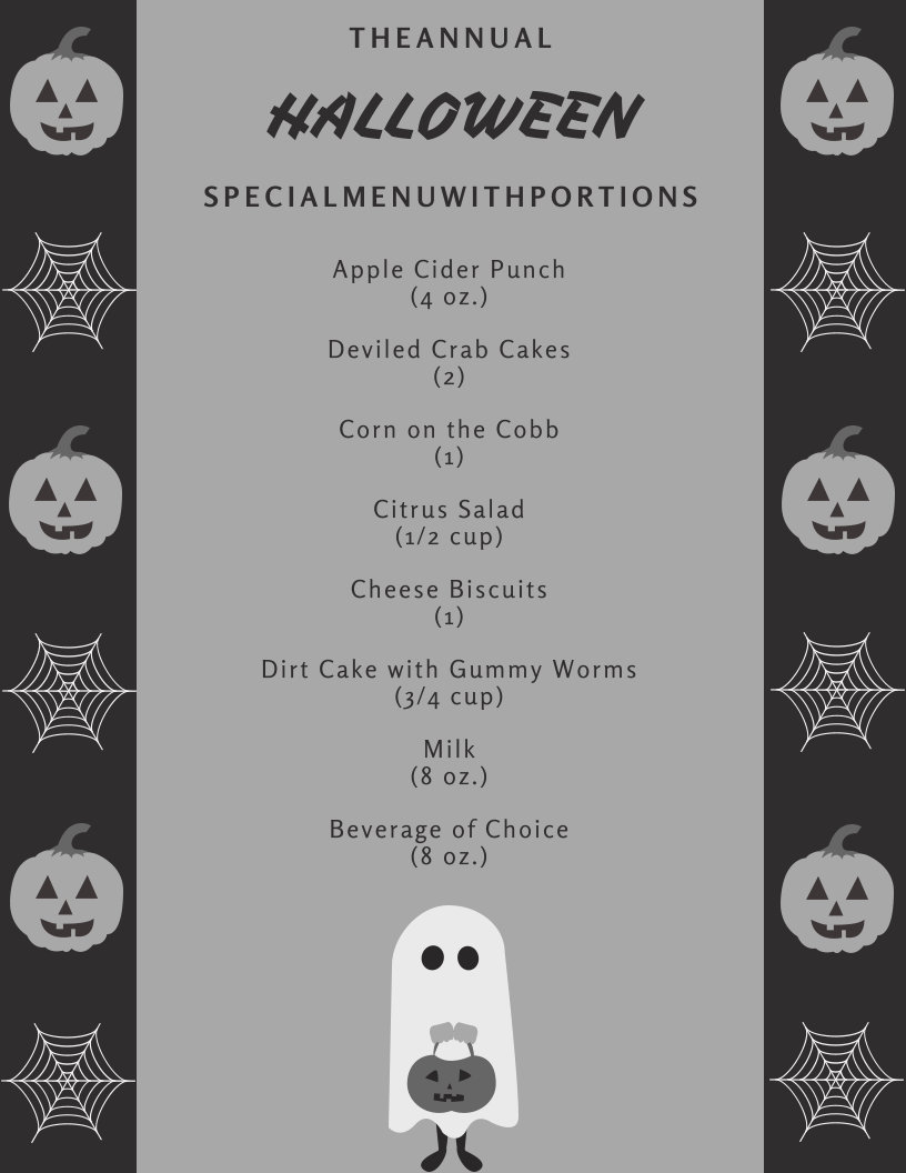 Halloween Fright Night Recipes