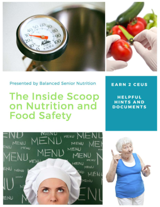 The Inside Scoop on Nutrition and Food Safety for ALFS eBOOK